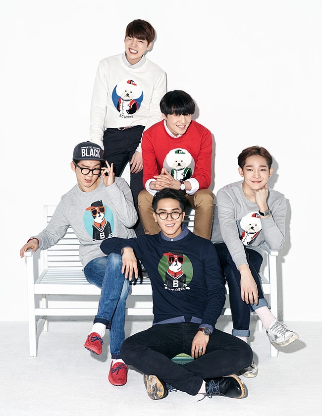 HQ Photos: [ENDORSEMENT] 150212 WINNER For NII X Beyond Closet  Collaboration!