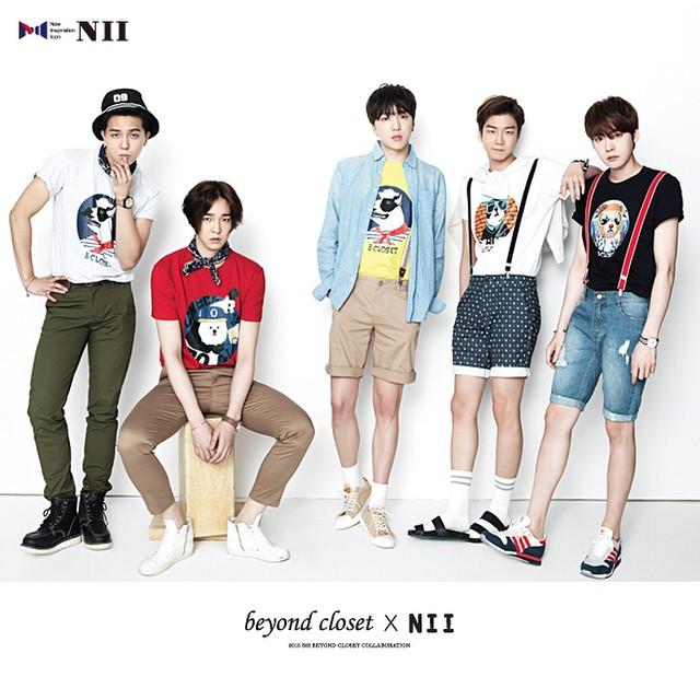 HQ Photos: [ENDORSEMENT] 150420 WINNER For NII X Beyond Closet  Collaboration!